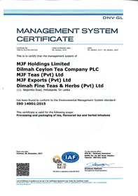 ISO 14001:2015 Environmental Management System Standard
