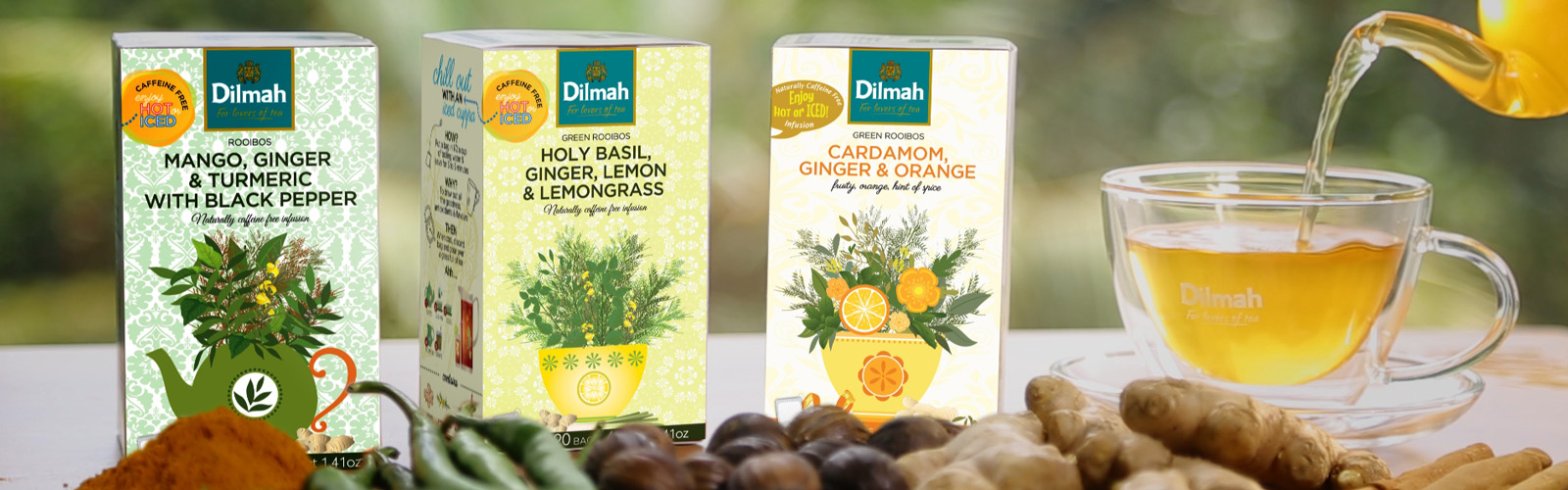 New Dilmah Infusions