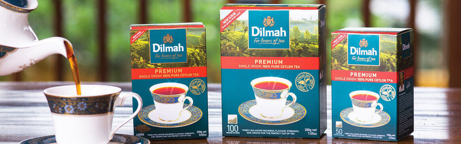 New zealand brands of tea - Dilmah Tea Inspired
