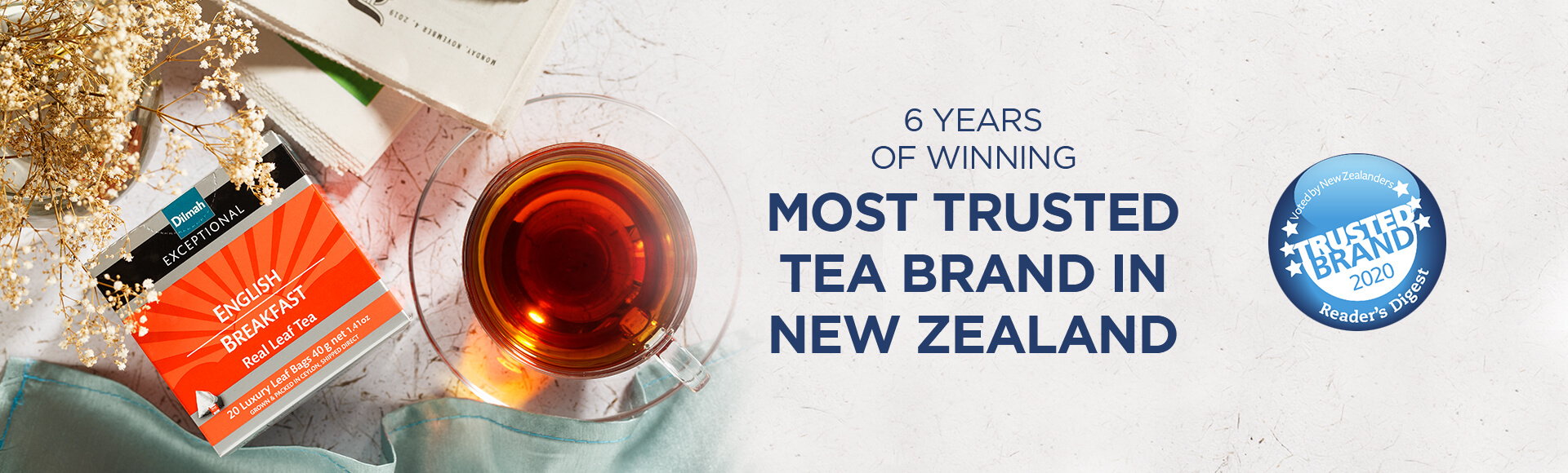 Most Trusted Tea Brand