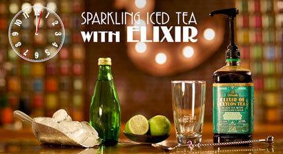 How to make Sparkling Ice Tea with Elixir of Ceylon Tea